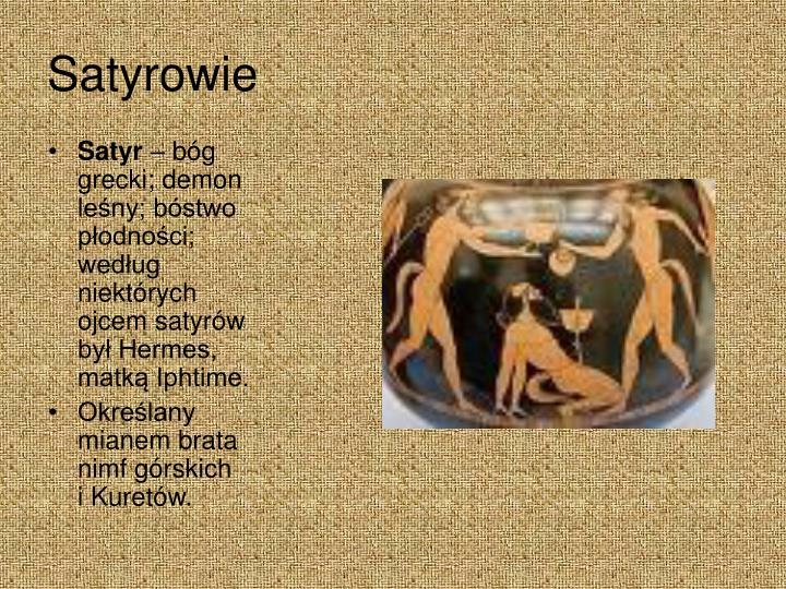 Satyrowie