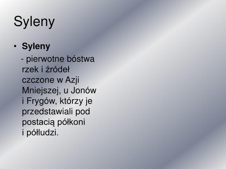 Syleny