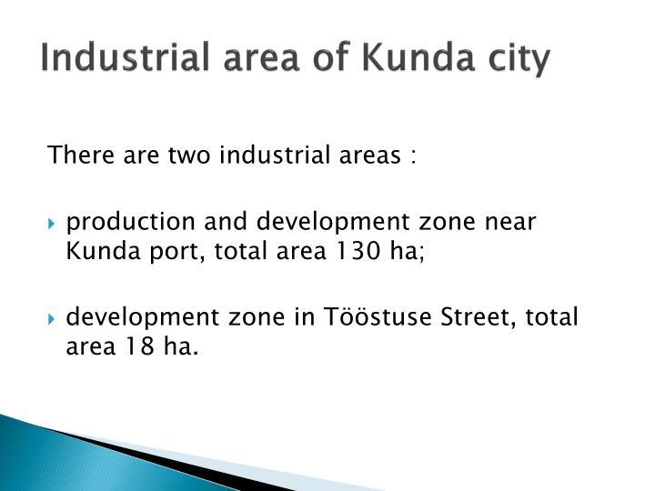 Industrial area of kunda city1
