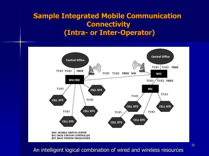 Sample Integrated Mobile Communication