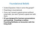 foundational beliefs6