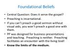 foundational beliefs7