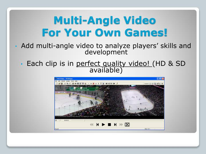 Multi-Angle Video