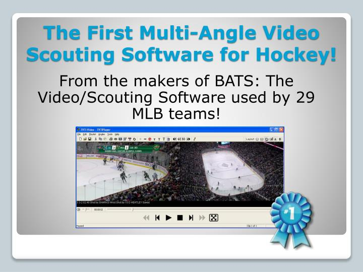 The first multi angle video scouting software for hockey