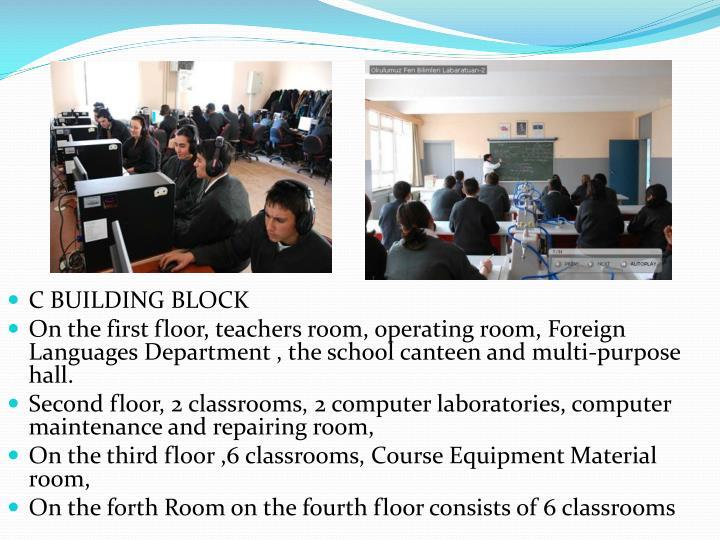 C BUILDING BLOCK