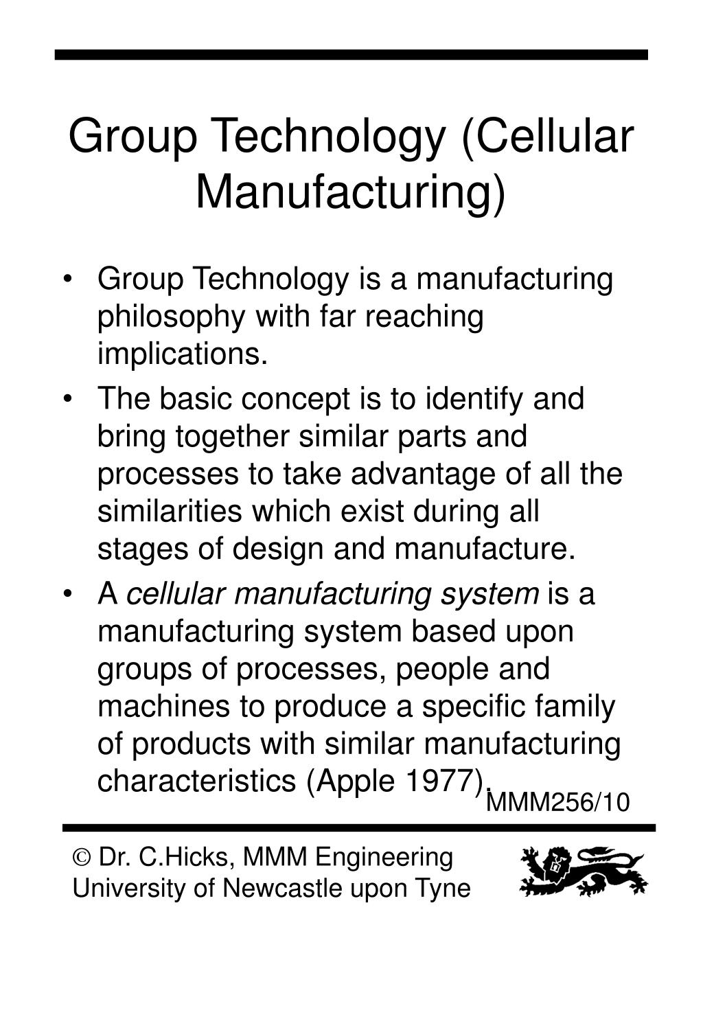 Ppt Manufacturing Systems Ii Powerpoint Presentation Free Download Id 1371762
