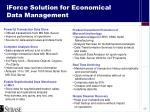 iforce solution for economical data management1