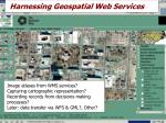 harnessing geospatial web services