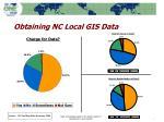 obtaining nc local gis data
