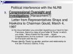 political interference with the nlrb3