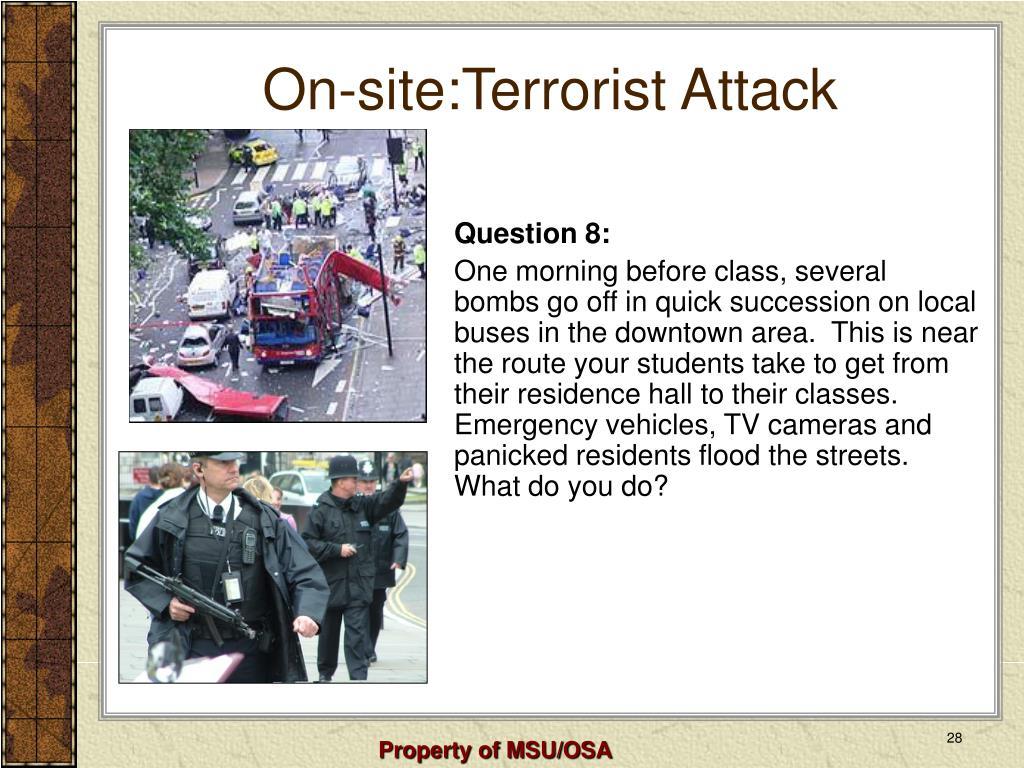 On-site:Terrorist Attack