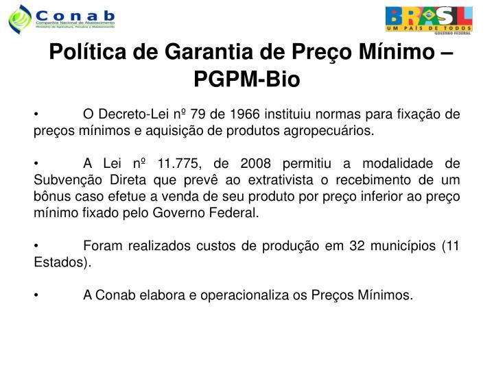 PPT - Política de Garantia de Preços Mínimos para Produtos da ... 816d62edd0