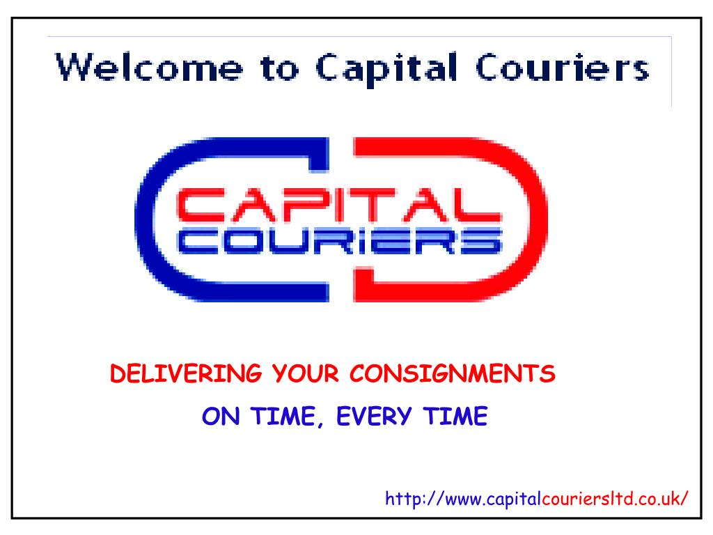 DELIVERING YOUR CONSIGNMENTS