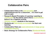collaborative pairs