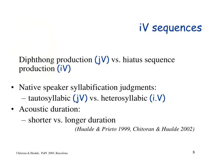 iV sequences