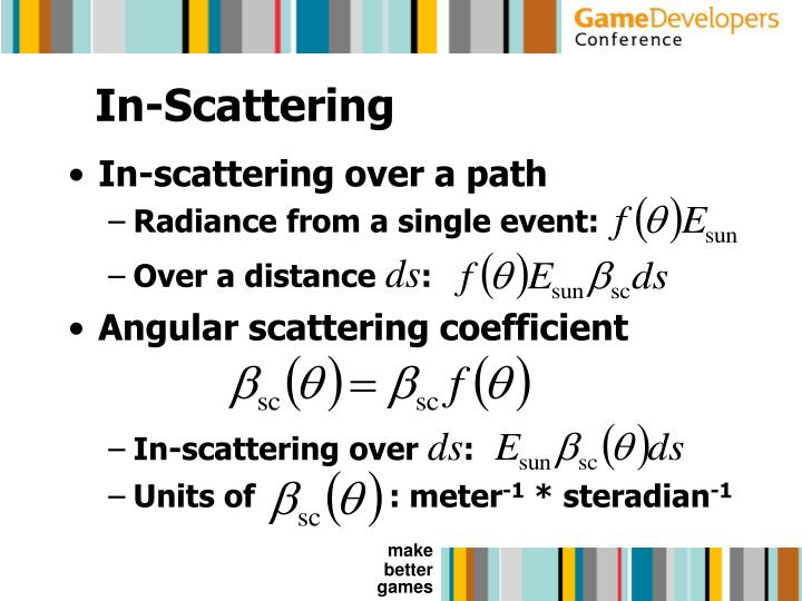In-Scattering