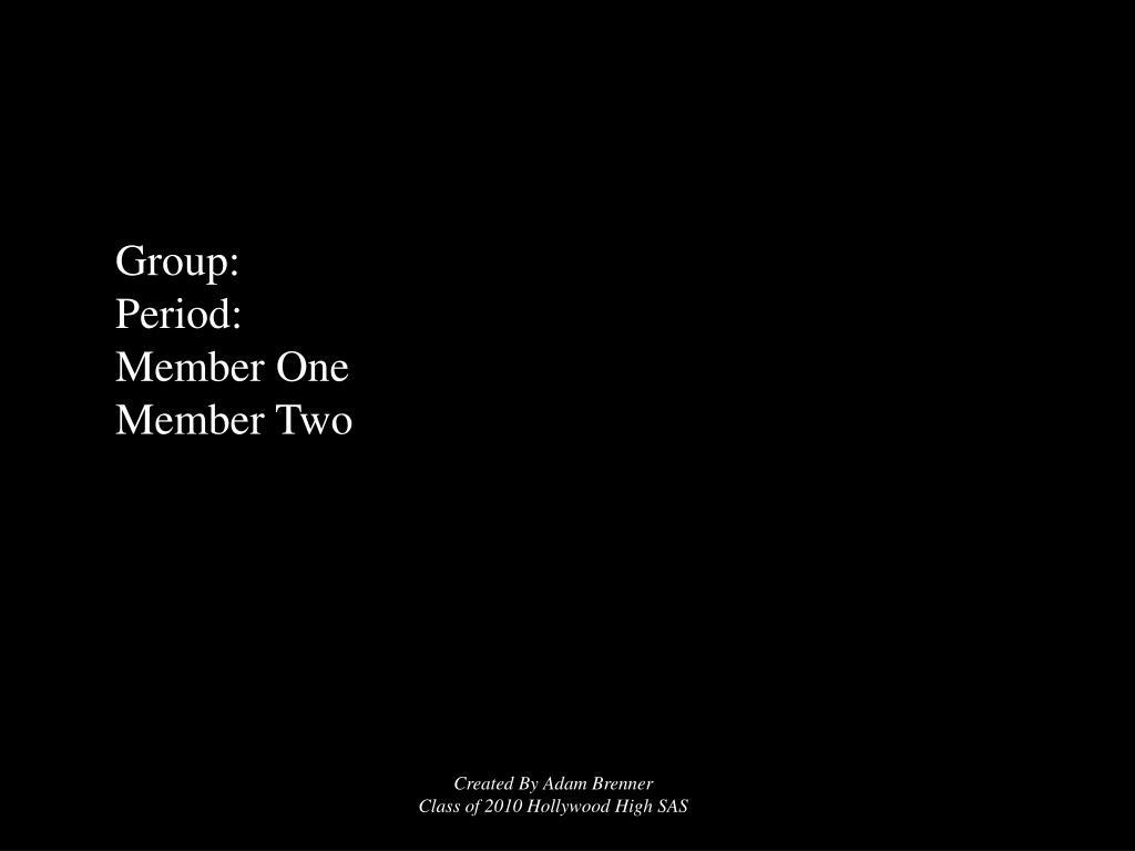 Group: