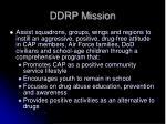 ddrp mission