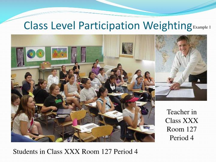 Class Level Participation Weighting