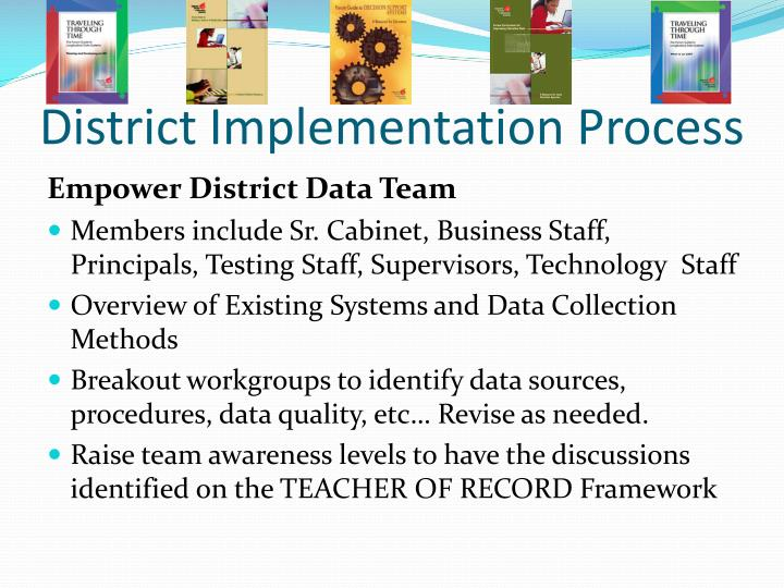 District Implementation Process