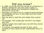 did you know28
