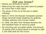 did you know45