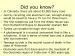 did you know52