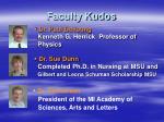 faculty kudos2