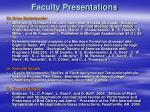 faculty presentations16