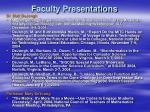 faculty presentations19