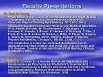 faculty presentations20
