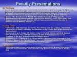 faculty presentations21