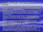 faculty presentations22