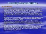 faculty presentations24