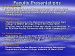 faculty presentations25