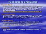 publications and books45