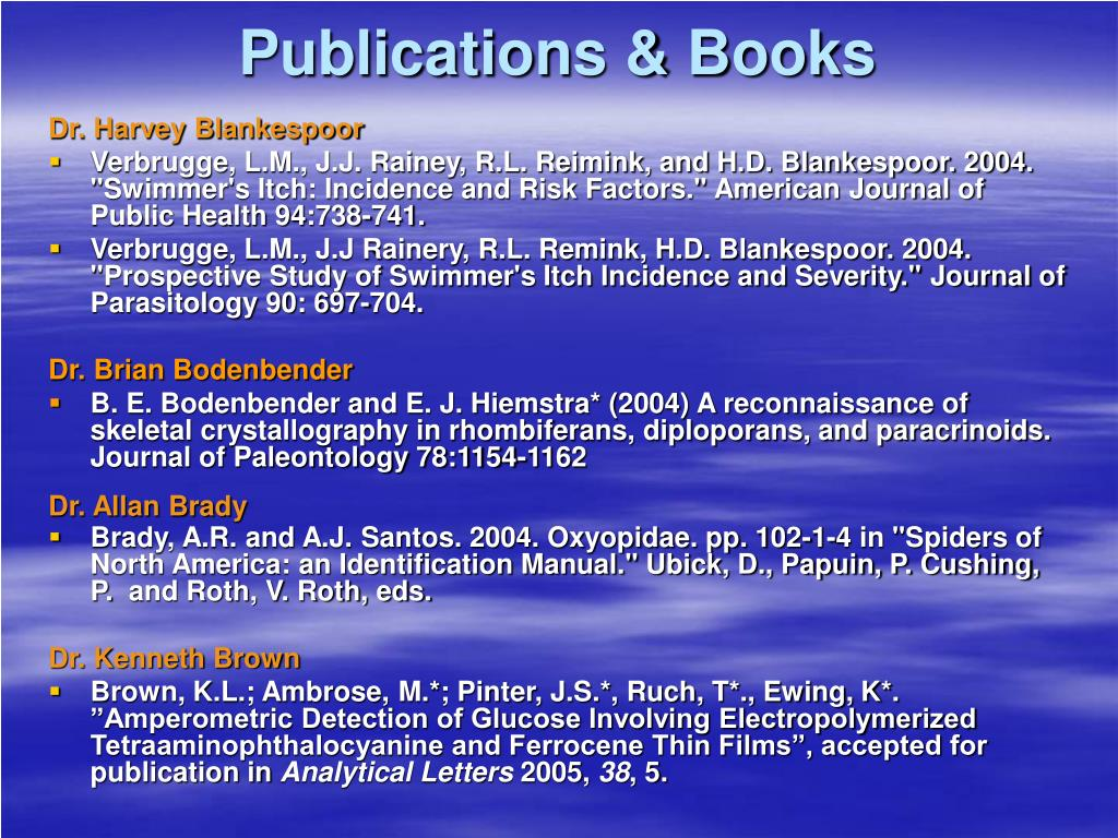 Publications & Books
