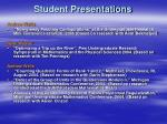 student presentations32