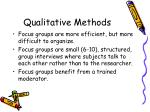qualitative methods10