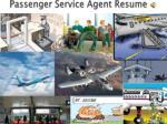 passenger service agent resume