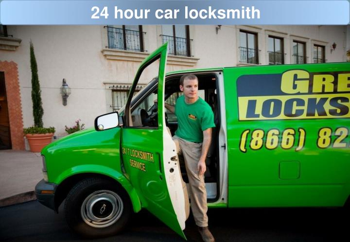 24 hour car locksmith