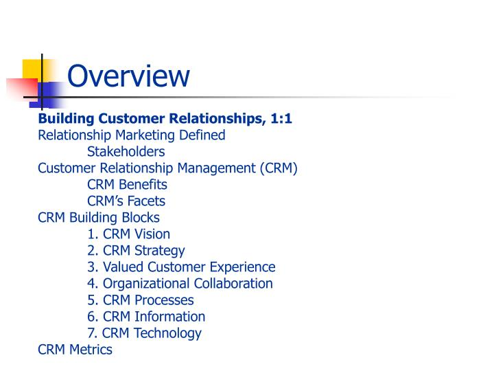 customer relationships definition Customer relationship management, or crm, is given several meanings, but the crm definition does not stray from a customer-centered philosophy the customer is king therefore.