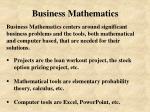 business mathematics6