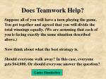 does teamwork help