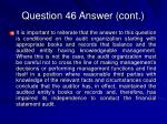 question 46 answer cont34