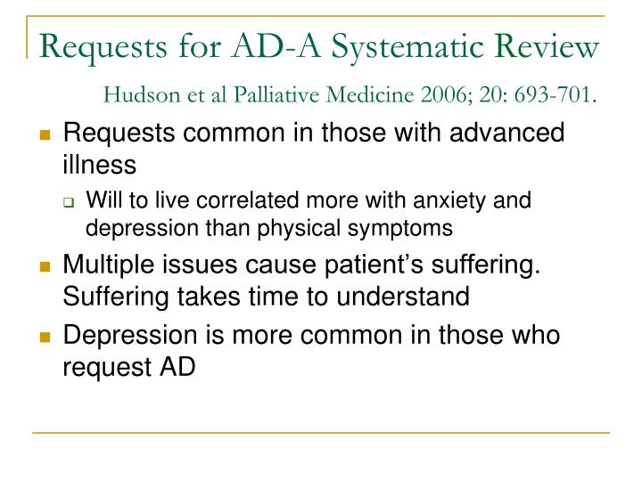 Requests for AD-A Systematic Review