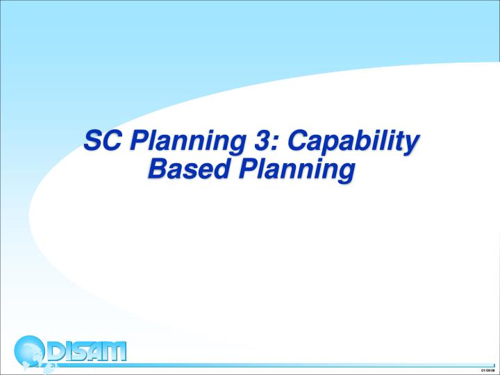 sc planning 3 capability based planning n.