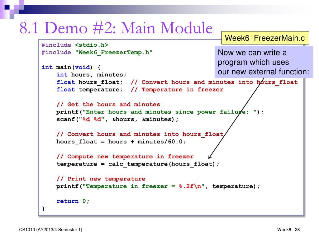 PPT - CS1010: Programming Methodology http://www comp nus edu sg
