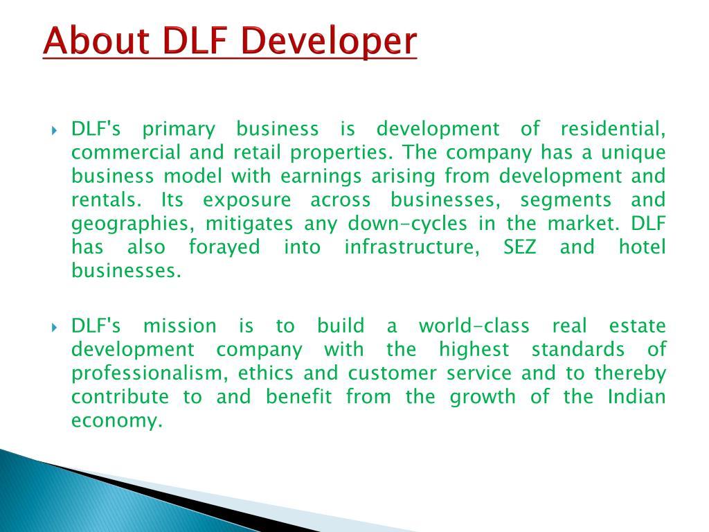 About DLF