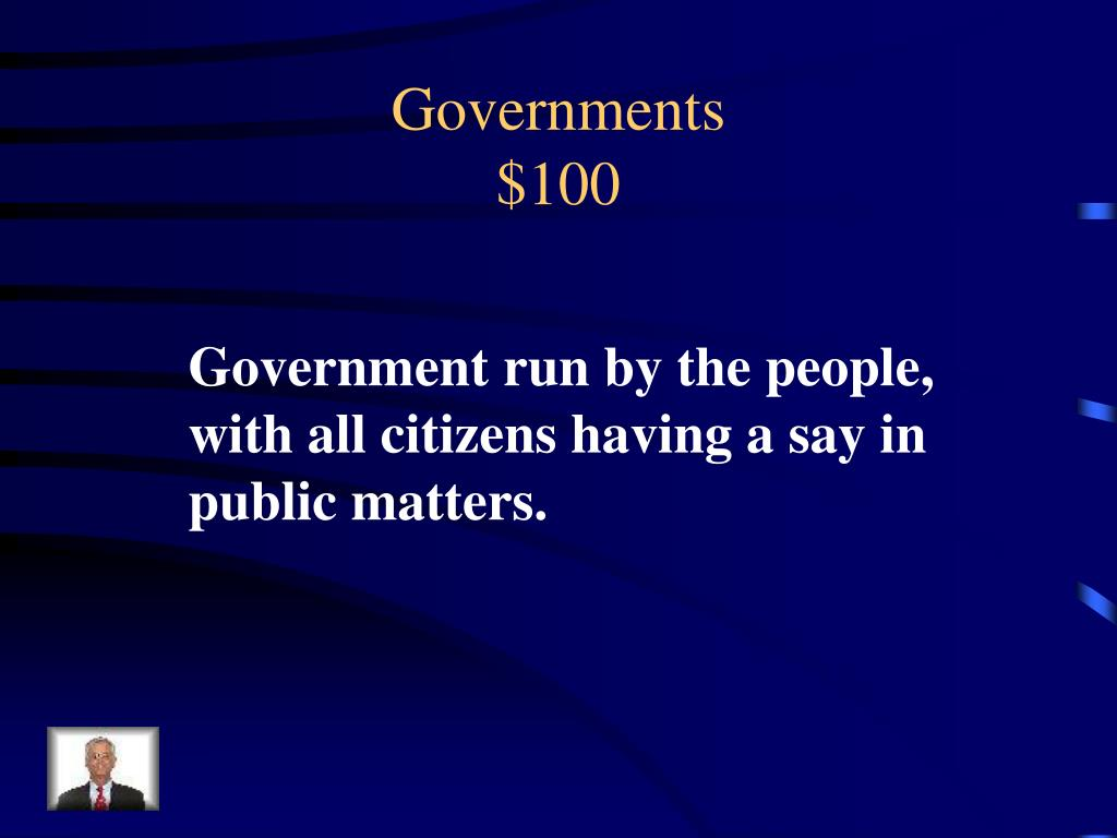 Governments